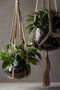 Suspension Pour Plante Interieur : pots de fleurs suspendus et originaux en 30 id es ~ Teatrodelosmanantiales.com Idées de Décoration