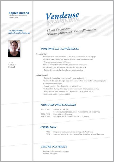 Rédaction Cv Gratuit by Exemple Cv En Anglais Vendeur Sle Resume