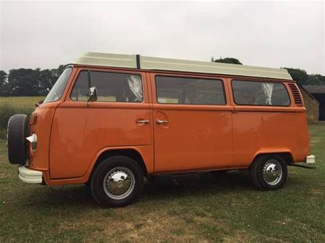 1972 4/5 Berth Vw Type 2 Camper