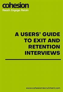 Exits And Retention Interview User Guide