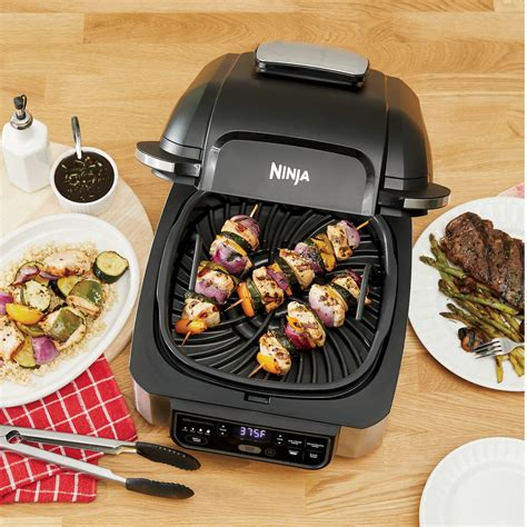 ninja foodi    indoor grill  air fryer seventh