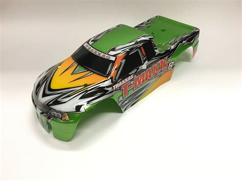 rc car painted  pactras lime ice