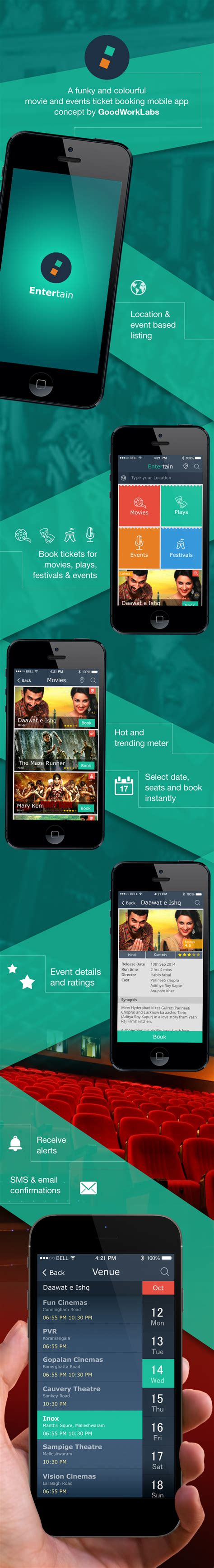 Booking Mobile by Ticket Booking Mobile App Iphone And Android App