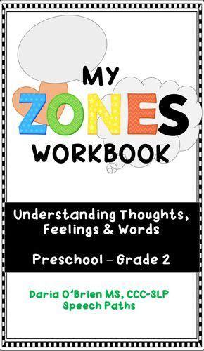 color   feelings workbook prek grade