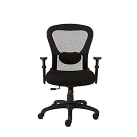 office chair with mesh back and seat depth adjustment