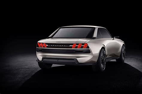 Peugeot Electric Car by Peugeot Revives The 504 Coupe As Autonomous All Electric E