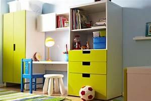 Kleine Couch Für Kinderzimmer : ikea aufbewahrungssysteme f r kinderzimmer wie z b stuva aufbewahrung mit t ren wei gr n ~ Bigdaddyawards.com Haus und Dekorationen