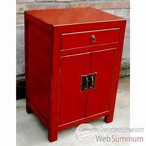 Meuble Cuisine Rouge Laqué : armoire dans meuble chinois sur meuble decoration pays ~ Teatrodelosmanantiales.com Idées de Décoration