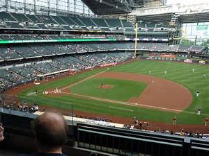 Brewers Stadium Seating Chart Miller Park Section 318 Home Of Milwaukee Brewers