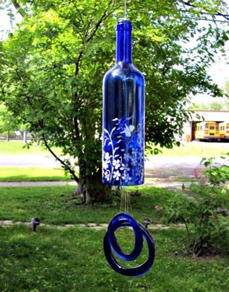 wine bottle garden glass bottles garden decor that will the show