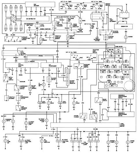 Wiring Diagrams Cadillac Fleetwood