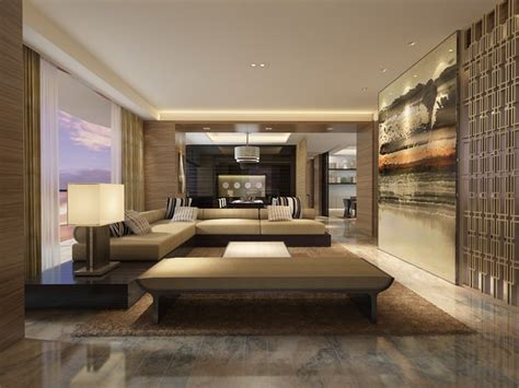 modern living room cgtrader