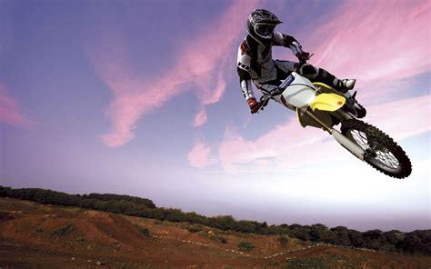 Motocross Bike In Sky Wallpapers