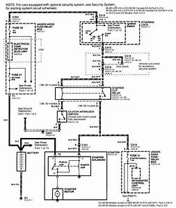 Honda Accord Starter Solenoid Wiring Diagram