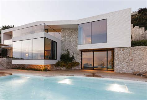 contemporary mediterranean coast villa