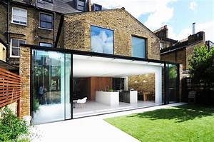 modern family home in london by bureau de change design office With idee amenagement exterieur entree maison 12 verriare entre cuisine et salon photo de rp metal