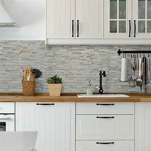 ideas for kitchen backsplash designs kitchen counter With kitchen cabinets lowes with papier couche