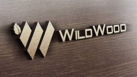 wood logos editable psd ai vector eps format