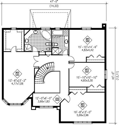 multi level home plans multi level house plans home design pi 20489 12225