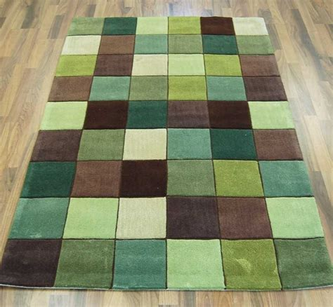 Minecraft Bedroom Rug by Ed 10 Pixel Green Brown Rugs Modern Rugs