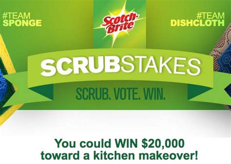 win a kitchen makeover scotch brite win a 20 000 kitchen makeover 1537