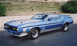1971 FORD MUSTANG MACH 1 FASTBACK - 16078