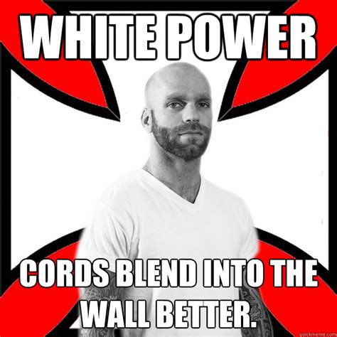 White Power Ranger Meme - god cursed the black race car of dale earnhardt on that tragic day in daytona skinhead with a