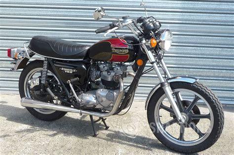 Triumph T140 Bonneville 750cc Solo Motorcycle Auctions