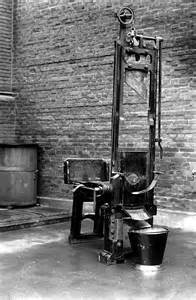 Nazi Executions Guillotine