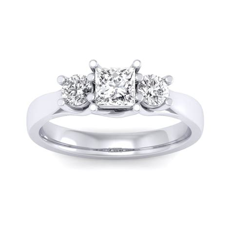 carat  white gold anna engagement ring engagement rings   prices  india