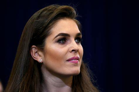 'One-Woman Press Team': Meet Hope Hicks, New White House ...