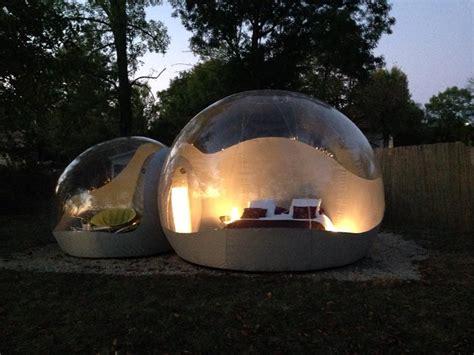 chambres bulles bulle suite à la cagne passer une nuit à à
