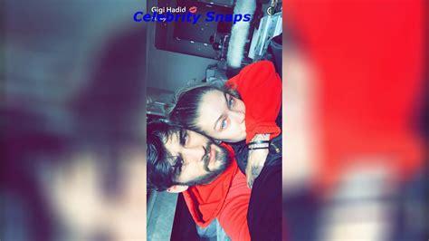 Zayn Malik and Gigi Hadid Snapchat