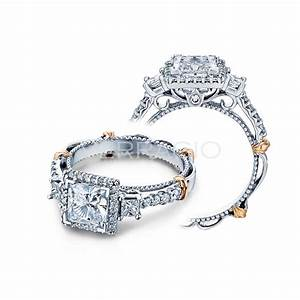 verragio engagement rings gold 050ctw diamond setting With wedding rings by verragio