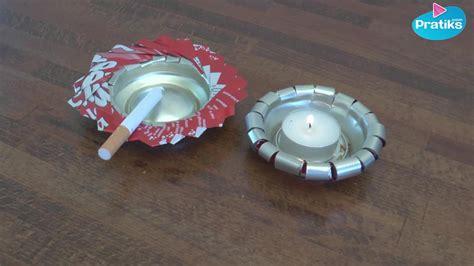 comment cuisiner une canette comment recycler une canette pour faire un bougeoir ou un