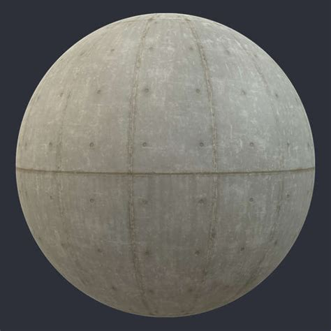 textures pbr material concrete substance wall