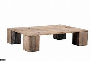 Table Basse Bois Brut : table exterieur pas cher ~ Melissatoandfro.com Idées de Décoration