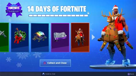 christmas gifts leaked gameplay fortnite