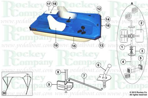 Sun Dolphin Paddle Boat Manual by Parts From Pedalboat