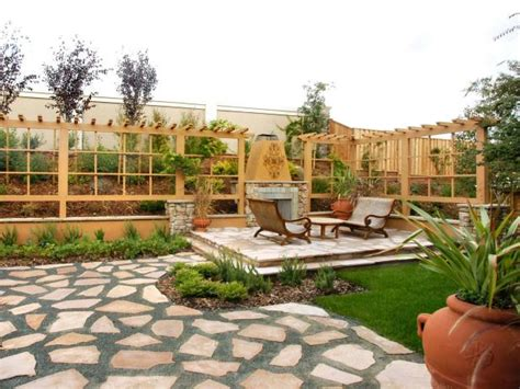 Dividing Outdoor Areas By Function