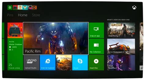 Microsoft Offers An Overview Of The Xbox One Dashboard