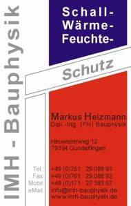 Schallschutz Zwischen Wohnungen : imh bauphysik schallschutz w rmeschutz feuchteschutz ~ Orissabook.com Haus und Dekorationen