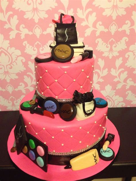mac cosmetics cake  kristis cakery cake stuff