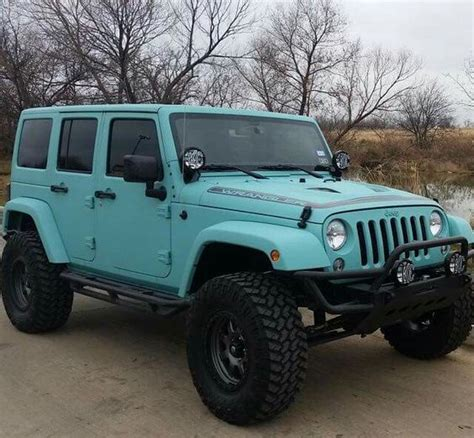 black and teal jeep beautiful colors and my pinterest on pinterest