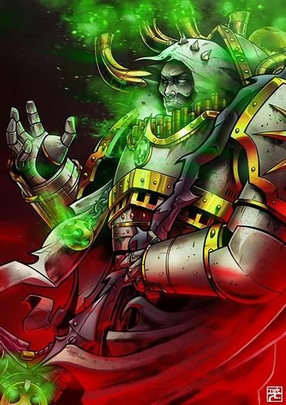 Mortarion 40k Warhammer Primarchs Artstation Cdnb