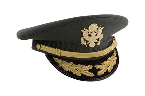 Army Field Grade Service Cap Green Bernard Cap