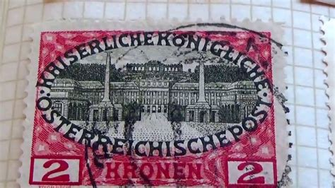 Have You Seen These Old/rare Austria Postage Stamps