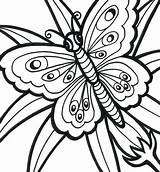 Coloring Easy Adults Pages Printable Adult Print Butterfly Bestcoloringpagesforkids Getdrawings Colorings sketch template
