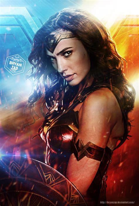 Wonder Woman Poster By Bryanzap On Deviantart