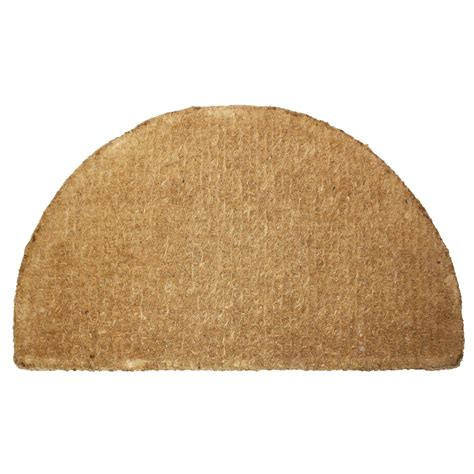 Large Coconut Door Mats by J M Home Fashions Plain Imperial Half